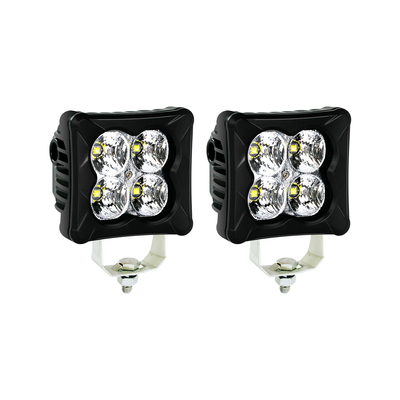 LED Pods Flood Work Light 2PCS - IP68&IP69K Waterproof Cube Light Bar Fog Light Driving Light